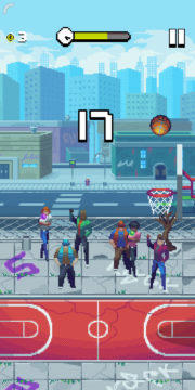 Bouncy Hoops - Android hra 08