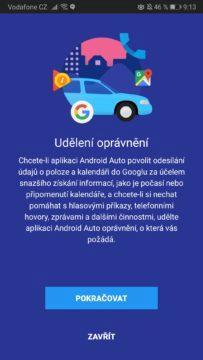 Česká republika - Android Auto
