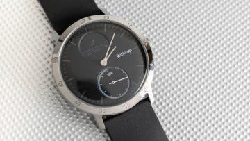 Chytré hodinky 2019 - Nokia Activité steel