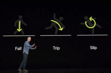 Jak funguje detekce pádu - chytré hodinky