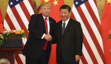Čínský a americký prezident - jednání