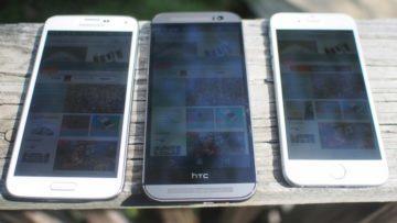 Čitelnost mobilu na slunci