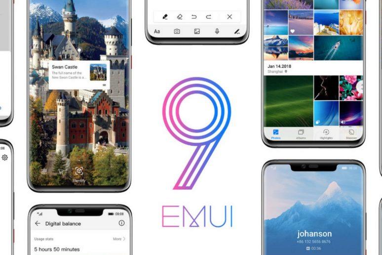 EMUI 9 - Huawei a Honor - seznam telefonů