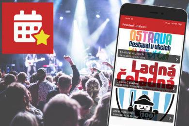 Aplikace Events Live nabídne zajímavé akce a festivaly
