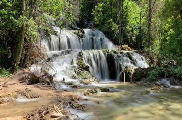 Rozmazání pohybu vody - fotoaparáty v mobilu