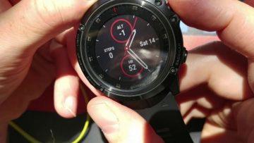 Garmin Fenix 5X Plus - chytré hodinky nad 10 000 Kč