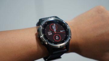 Garmin Fenix 5X Plus - hodinky - mapy