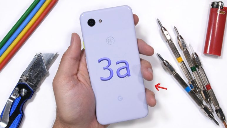 Google Pixel 3a Durability Test! - Is Plastic Weak?!