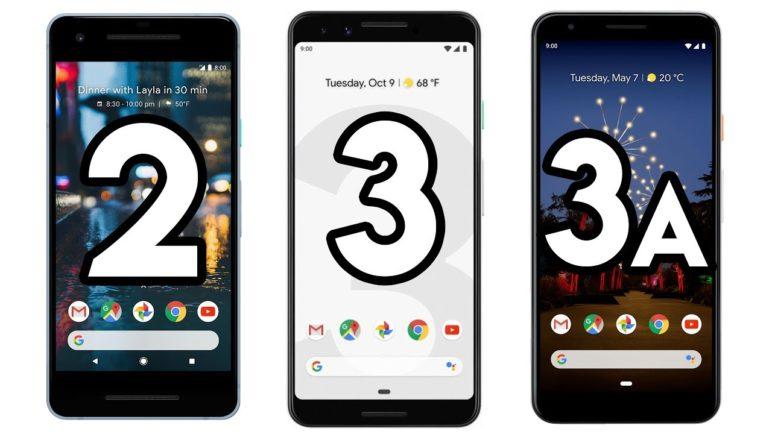 Google Pixel 3a, Pixel 3, Pixel 2 📷 Fototest