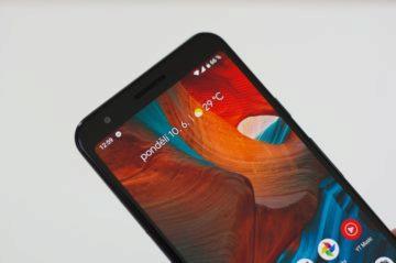Google Pixel 3a sluchátko
