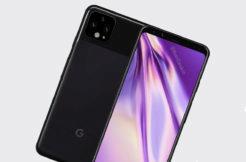google pixel 4 render vzhled