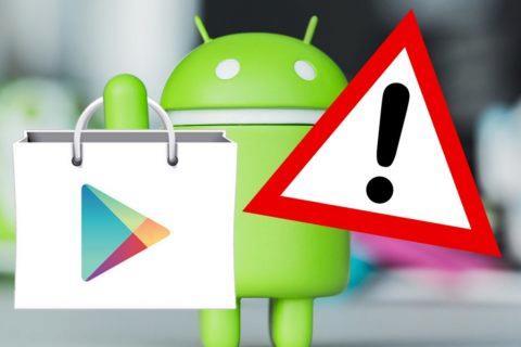 Google Play - nebezpečné aplikace