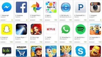 Android obchod - nebezpečné aplikace
