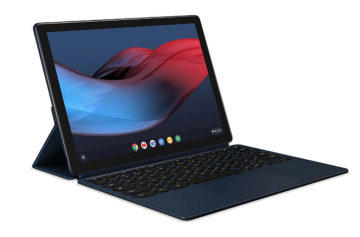 Tablet od Google s klávesnicí