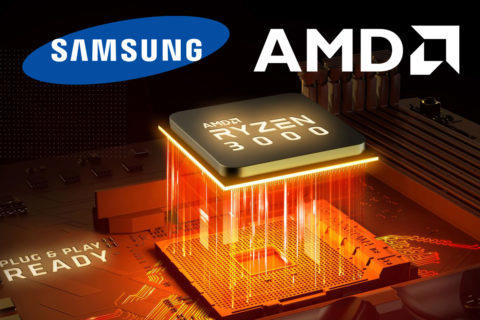 grafika AMD Radeon mobil Samsung