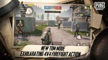 pubg mobile aktualizace team deathmatch gozdzilla kral monster