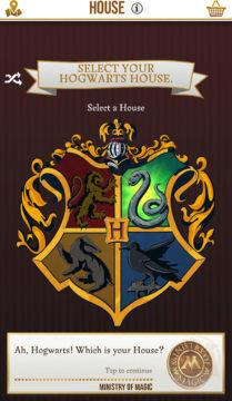 Harry Potter Wizards Unite volba koleje