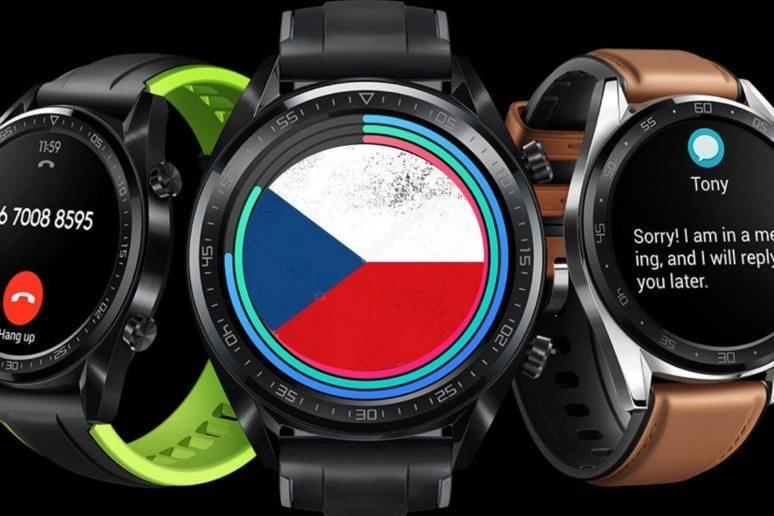 Hodinky Huawei Watch GT - podpora češtiny
