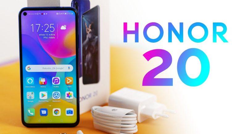 Honor 20 📱 První pohled česky