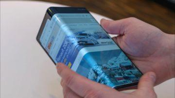 Huawei Mate X - ohebný telefon - cena