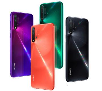 huawei nova 5 pro design