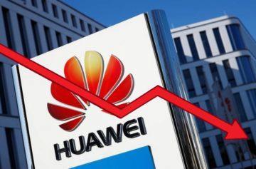 Huawei - sankce - ztráta
