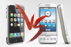 Porovnání iPhone 2G a T-Mobile G1