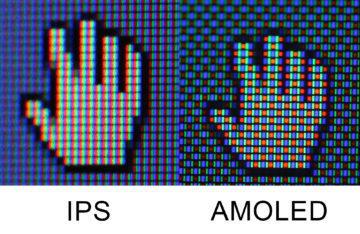 Vypalování displeje amoled vs ips