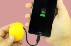 Jak nabít telefon bez elektřiny