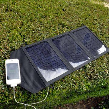 Jak nabít telefon bez elektřiny - solární panel
