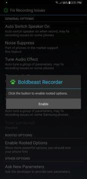 Jak nahrávat hovory - Android 9 Boldbeast