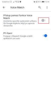 Jak zapnout a vypnout Google Asistent