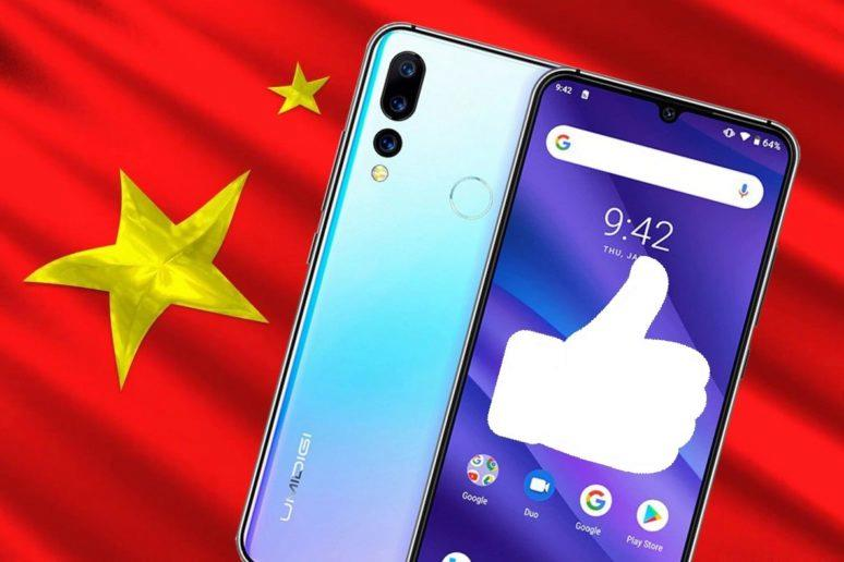Levné telefony z Číny