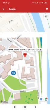 Mapa Events Live