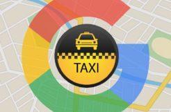 Google mapy hlídají taxi trasu