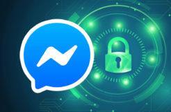 zabezpečení facebook messenger