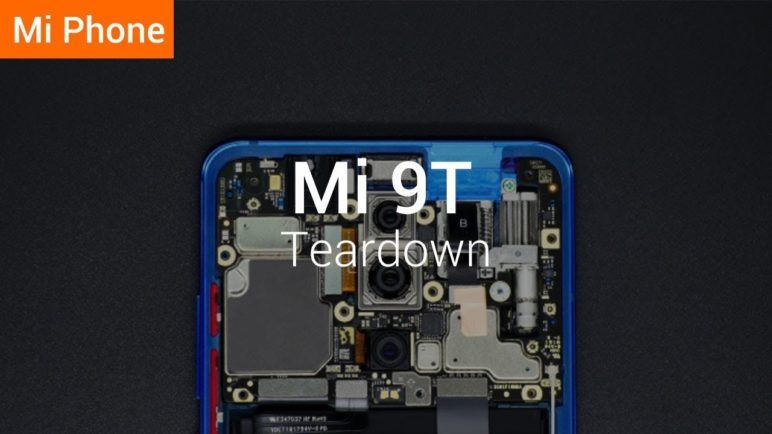 Mi 9T: Teardown