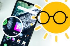 Mobil - čitelnost displeje na slunci