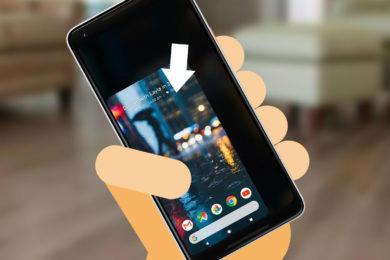 Mobilní telefon - ovládání jednou rukou