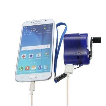 Nabít smartphone bez elektřiny