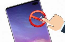 Samsung Edge Displej nechtěné doteky
