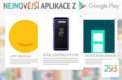 Nejnovější aplikace z Google Play #293: vylepšení telefonů Samsung
