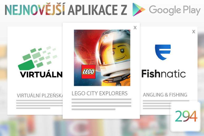 Nejnovější aplikace z Google Play #294: LEGO v mobilním telefonu