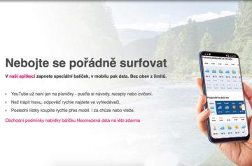 Nabídka neomezených dat T-Mobile