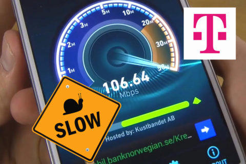 Rychlost neomezená data T-Mobile