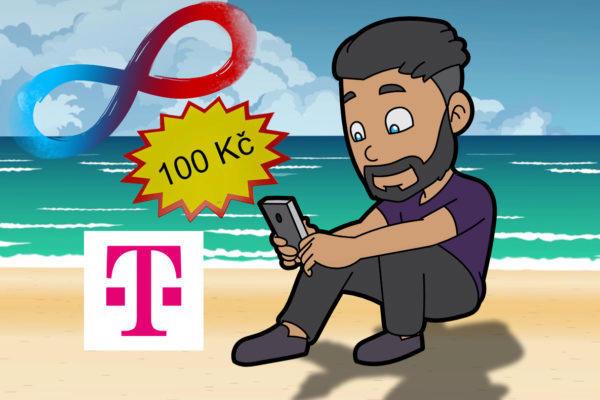 Neomezená data od T-Mobile za 100kč