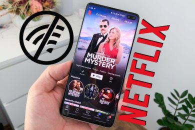Netflix CZ offline