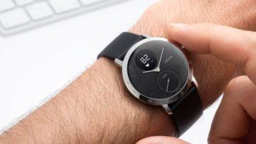 Nokia Activité steel - hodinky levně