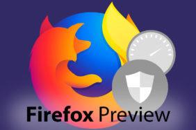 nový prohlížeč firefox preview