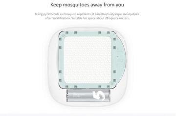 Vnitřek elektrického odpuzovače komárů
